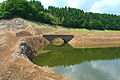 Bridge in Wahnbach reservoir, Germany.jpg