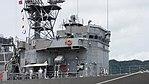 Bridge of JS Sendai (DE-232) right front view at JMSDF Maizuru Naval Base July 29, 2017 01.jpg