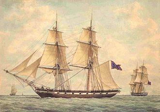 Greek brig Aris - The Aris during the Greek War of Independence