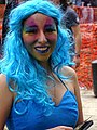 Brightly Colored Young Woman - Jardin Hidalgo - Coyoacan - Mexico City - Mexico (15333478189).jpg