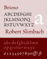 Brioso typeface sample.png