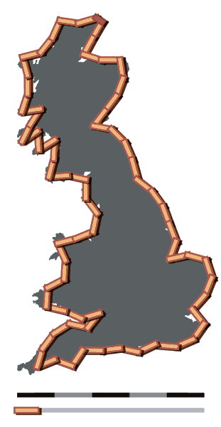 Britain-fractal-coastline-50km