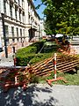 Brno, rekonstrukce Joštovy ulice, jaro 2011 (4).JPG