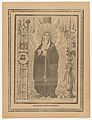 Broadsheet with the Virgin of Sorrows, flanked by instruments on the Passion MET DP869181.jpg