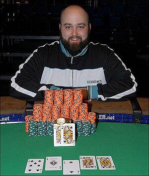 Brock Parker - Brock Parker at the 2009 World Series of Poker