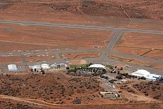 Broken Hill Airport - Image: Broken Hill Airport overview Vabre