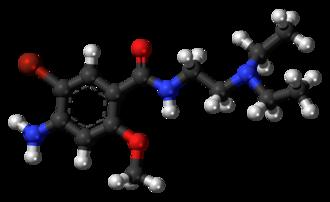 Bromopride - Image: Bromopride 3D balls