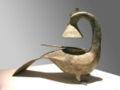 Bronze Lamp in theShape of a Phoenix.jpg