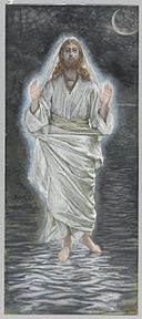 Brooklyn Museum - Jesus Walks on the Sea (Jésus marche sur la mer) - James Tissot - overall.jpg