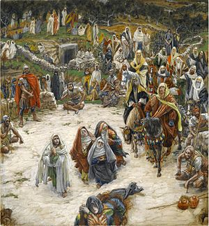 Sayings of Jesus on the cross - Crucifixion, seen from the Cross by James Tissot, c. 1890