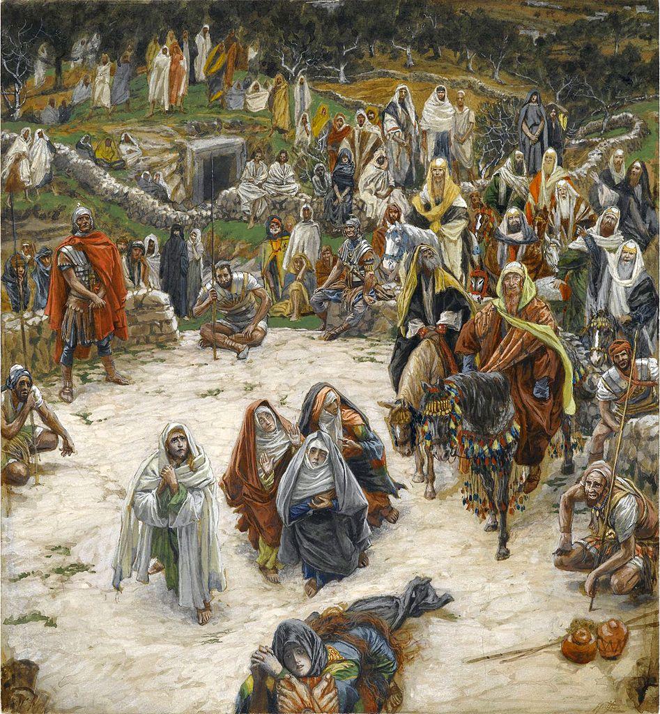 십자가에서 내려다 보시니 (자메 티소트, James Tissot, 1886~1894년)