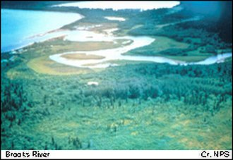 National Register of Historic Places listings in Lake and Peninsula Borough, Alaska - Image: Brooks River Archeological District (Bristol Bay, Alaska)