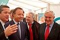 Bruno Belin, Jean-Pierre Bel, Pierre-Yves Collombat et Jean-Pierre Raffarin en 2011.jpg