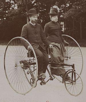 Adolphe Clément-Bayard - Gustave Adolphe and Céleste Angèle Clément circa 1894-1895