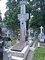 Bucuresti, Romania. Cimitirul Bellu Catolic. Mormantul Episcopului Martir VASILE AFTENIE, Beatificat in 2 Iunie 2019 de catre PAPA FRANCISC.jpg