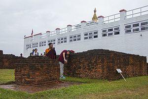 Maya Devi Temple, Lumbini - Image: Buddha Jayanti IMG 9120