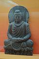 Buddha in Meditation - Schist - ca 2nd Century CE - Gandhara - Loriyan Tangai - ACCN 4855 - Indian Museum - Kolkata 2016-03-06 1483.JPG