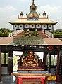 Buddha shrines in Lumbini, Nepal.jpg