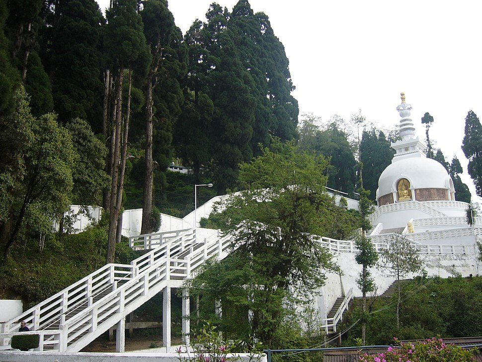 Buddhist Temple Peace Pagoda Darjeeling West Bengal India (7)