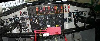Canadair CL-215 - Cockpit of a Buffalo Airways Canadair CL-215