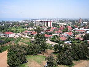 Il centro di Bujumbura nel 2006