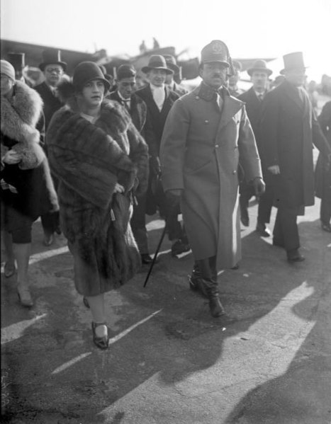 King Amanullah Khan and Queen Soraya Tarzi on a visit to Berlin in 1928