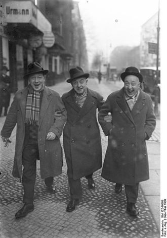 Fratellini family - The Fratellini brothers in Berlin, 1927