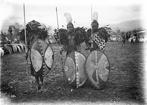 Maasai people - Maasai warriors in German East Africa, c. 1906–1918