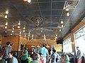 Burgerfi interior, Miracle Plaza, Thomasville Road, Tallahassee.JPG