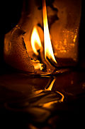 Burned candle and spilled wax.jpg