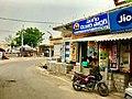 Bus stop in Vykuntapuram, Amaravathi Mandal.jpg