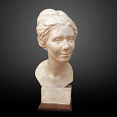 Bust of a young woman-Georgette Agutte-MG 2328