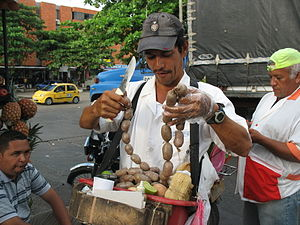 Informal sector - Street vendor in Colombia