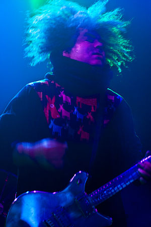 Buzz Osborne - Osborne performing in San Francisco in 2010.