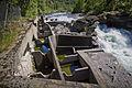 By the Lærdalselvi river in Husum, 2013 June.jpg