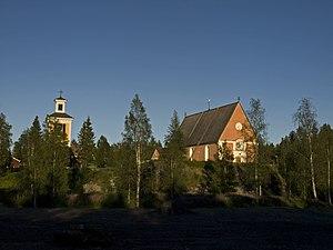 Bygdeå - Church ensemble in Bygdeå