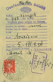 Visa Document Wikipedia