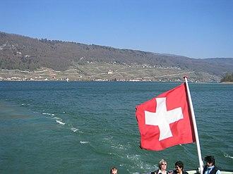 Seeland (Switzerland) - Image: CH Bielersee 2