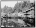 CREEK STREET, LOOKING NORTHWEST - City of Ketchikan, Ketchikan, Ketchikan Gateway Borough, AK HABS AK,10-KECH,5-2.tif