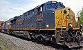 CSX Transportation - 3124 & 4797 diesel locomotives (Marion, Ohio, USA) 1 (43222888721).jpg