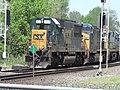CSX freight train (9 May 2015) (Marion, Ohio, USA) (25477504818).jpg