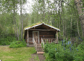 Robert W. Service - Cabin of Robert Service in Dawson City, Yukon