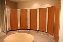 Womens Communal Changing Rooms