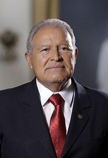 Salvador Sánchez Cerén Presidente de El Salvador (2014-2019)