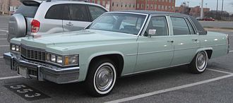 Bill Mitchell (automobile designer) - The 1977 Cadillac Sedan de Ville featured slightly downsized styling influenced by the 1975 Cadillac Seville