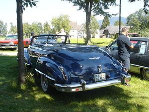Cadillac Series 61 - 1947 Cadillac Series 61 convertible rear