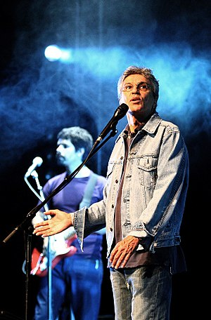 Caetano Veloso - Veloso performs in Lisbon, Portugal in 2007.