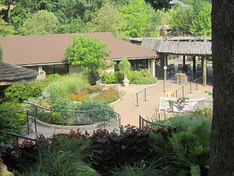 Caldwell Zoo - Front entrance