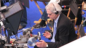 Caleb Deschanel - Deschanel on the set of The Spiderwick Chronicles in April 2007.