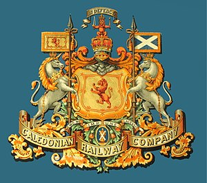 Caledonian Railway - Caledonian Railway Coat of Arms